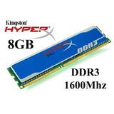 Memoria Ram Hyperex Blu 8gb 2x4 Pc