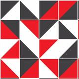 Kit Papel De Parede Geométrico, Poá E Faixa Decorativa