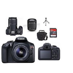 Camera Canon Eos Rebel T6 Kit 18-55mm Mb32 Bolsa Tripé