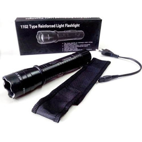 Lanterna De Choque Tática Type 1101 Light Flashlight 299000w
