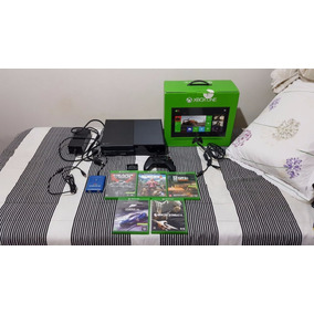 Xbox One + Controle + Bateria + Headset+5 Jogos+maxshooter