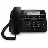 Telefono Philips Crd200b/77 Negro Con Cable 2m