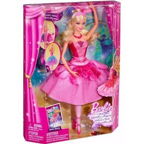 Boneca Barbie Bailarina E As Sapatilhas Mágicas - Mattel