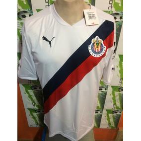Jersey Chivas Rayadas D Guadalajara Puma 100%original Visita