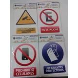 Señaleticas De Prevención Y Seguridad Laboral E Industrial
