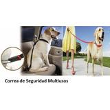 Correa Para Perros Con Cinturón Seguridad Para Autos 2 En 1