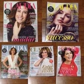 Revistas Cláudia, Menor Preço Do Mercado Livre!