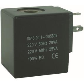 Bobina Solenoide 220v Para Válvula Pneumática Orifício 14mm