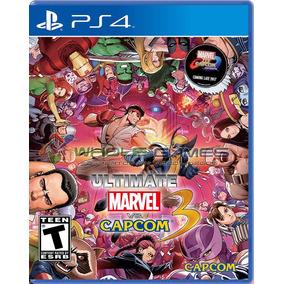 ¡¡ Ultimate Marvel Vs Capcom 3 Para Ps4 En Wholegames !!