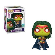 Funko Pop Marvel Gamora #441 Cabeza Oscilante Limited Ed