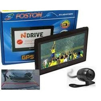 Gps Foston 3d 473dc 4.3 C/ Camera De Ré - Tv Digital Full Hd