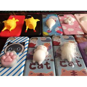 Funda Iphone Squishy Gato Y Animalitos Puebla