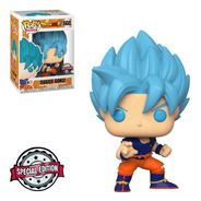 Funko Pop Animation Db Super Exclusive - Ssgss Goku 668