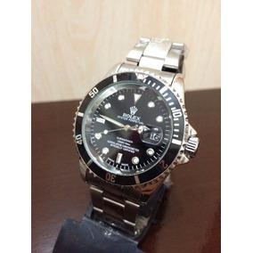 Relógio Submariner Black Silver