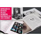 Revistas Menus Catalogos Brochure Books Tripticos Dipticos