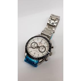 f215610755a9 Ebel Discovery Cadete Cronometro Cara Blanca Correa Piel - Reloj de ...