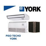 Piso Techo York 5 Ton 60000 Btu Solo Frio 220v 410a