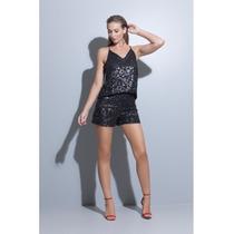 Shorts Paetes Fem 11 - Hsa7089
