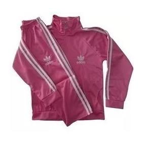 Conjunto Infantil Blusa E Calça Kit Frio adidas Bebê/criança