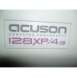 Ecografo Acuson 128 Xp, Funcionando