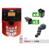 Módulo Dbdrums Db20 + Set Triggers + Parches Mesh Cables Kw