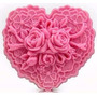 10 Sabonete Coração Renda Lembrança Casamento, Bodas