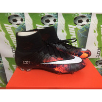 Tacos Futbol Nike Mercurial Vapor Superfly Cr7 Fibra Carbono