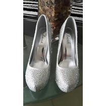 Zapatos De Vestir Con Pedrerias Al Mayor Y Detal