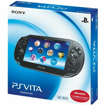 Psvita Sony Playstation Portatil 3g Wi-fi Pch1103 Za01+4gb