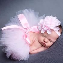 Hermoso Vestido De Bebe Recien Nacida Para Foto De Estudio