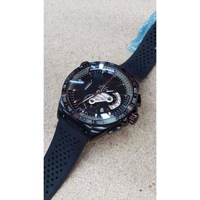 Reloj Tag Heuer 012tg Grand Carrera Calibre 36 Negro Caucho