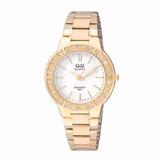 Reloj Análogo Q&q Q901j001y Dorado Mujer