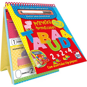 Livro - Vire E Desvire - Primeira Aprendizagem - Tabuada