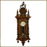Relógio Parede Junghans Germany Cavalinho Temático Raphael