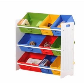Organizador Colorido De Brinquedos Infantil Frete Grátis