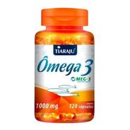 Omega 3 Meg-3 1000mg 120 Cápsulas - Livre De Metais Pesados