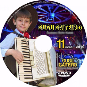 Kit Gugu Gaiteiro - Cd+dvd Vol.01 + Cd+dvd Vol.02 - 04 Un