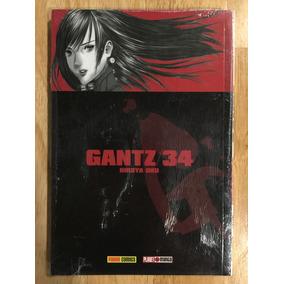 Mangá Gantz Nº 34 - Hiroya Oku - Novo Lacrado De Fábrica!!!