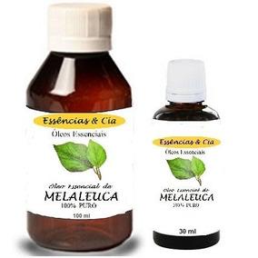 Kit 1 Óleo Essencial Melaleuca Tea Tree 100ml + 1 De 30ml