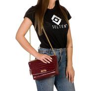 Bolsas Femininas Pequena De Lado Alça De Corrente Lindas Cr1