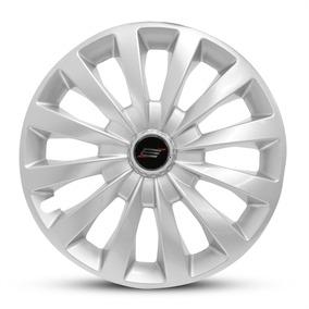 Calota Silver Fiat Palio G3 03 04 05 06 07 Aro 13 Prata