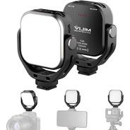 Luz Continua Vijim Vl66 Bi Color Bateria Interna 360° Zapata