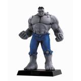 Miniatura Marvel Eaglemoss Hulk Cinza - Edição Especial