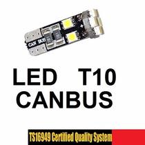 Led T10 Canbus Pellizco Ultrabrillante Maxima Calidad