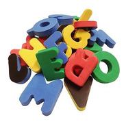 Brinquedo Pedagógico Alfabeto Em Eva Magnético 31 Pçs Evamax
