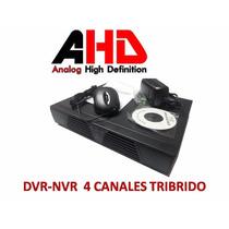 Dvr Ahd 4 Tribrido ,ahd/ip/analogo ,hdmi . Pagina Propia