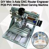 Mini Cnc Router Fresadora Motor Passo Drive