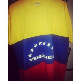 Franelas De La Bandera De Venezuela