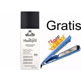 Shampoo Alisante The First Sweet 980 Ml + Prancha Gratis