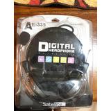 Auricular Con Micrófono Satellite Ae-335 Headphone